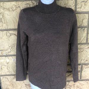 Philosophy light Brown Turtleneck Sweater Soft M